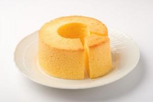 シフォンケーキの写真