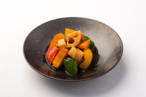 揚げ野菜の南蛮漬けの写真