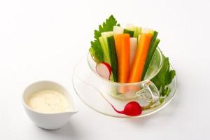 野菜スティック&ディップの写真