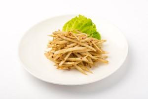 ごぼうのマスタードサラダの写真