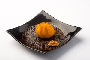 かぼちゃの茶巾絞り(シナモン風味)の写真